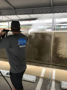 another building wash photo
