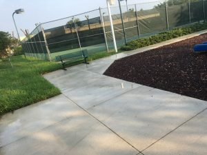 Pressure Cleaning Concrete Miami