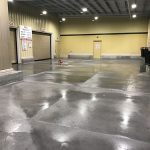 Store Front Concrete Pressure Cleaning