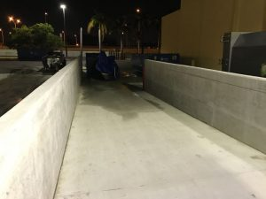 Loading Ramp Pressure Cleaning Miami