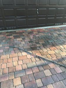 Pavers Pressure washing