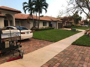 another completed Pressure washing Hammocks house