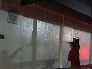 Pressure Cleaning Commercial Building
